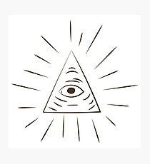 A Scanner Darkly Illuminati Symbol Photographic Print