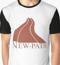 New Path Symbol a Scanner Darkly Graphic T-Shirt