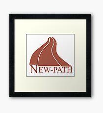 New Path Symbol a Scanner Darkly Framed Print