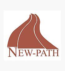 New Path Symbol a Scanner Darkly Photographic Print