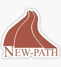 New Path Symbol a Scanner Darkly Sticker