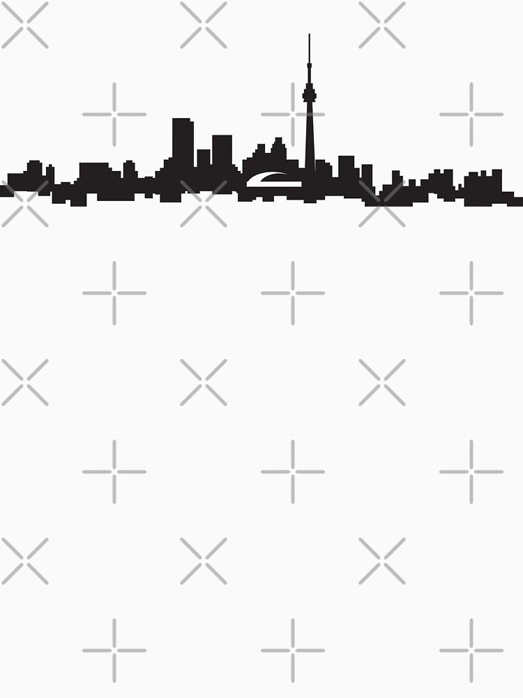 downtown Toronto skyline by kislev