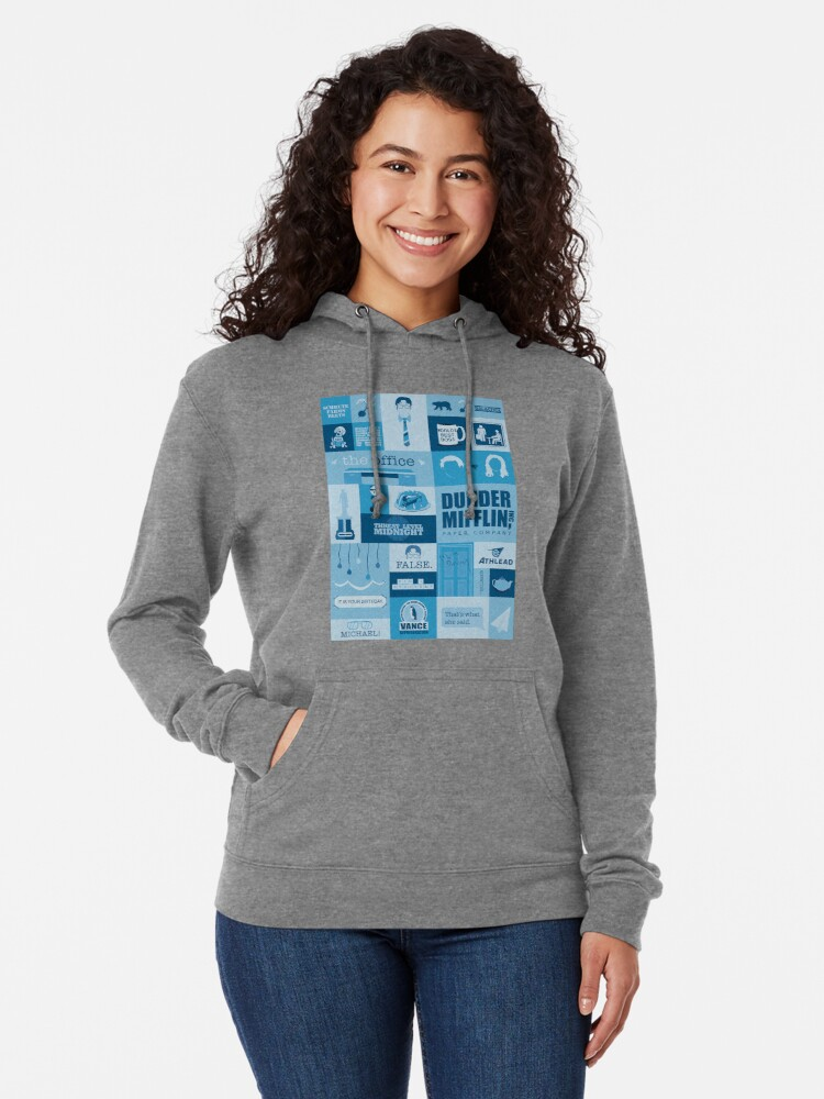 Alternate view of The Office Lightweight Hoodie