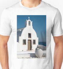 White Church, Oia, Santorini T-Shirt