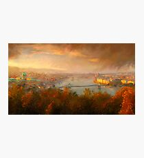 View of Budapest Photographic Print