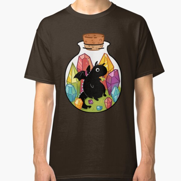 Dragon in a Bottle Classic T-Shirt