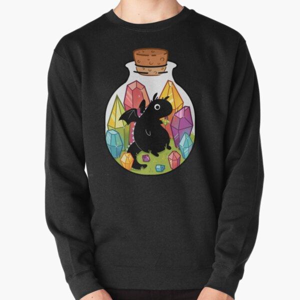 Dragon in a Bottle Pullover Sweatshirt