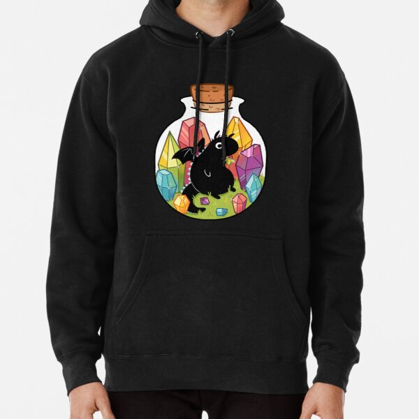 Dragon in a Bottle Pullover Hoodie