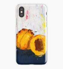 Apricot in Half iPhone Case
