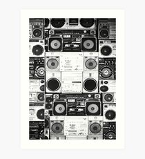 Ghetto Blaster Art Print