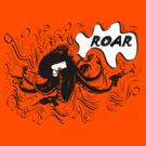 Roaring Octopus with frills by Andrew Tomlins