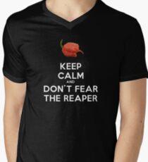 Don't Fear The (Carolina) Reaper! Men's V-Neck T-Shirt