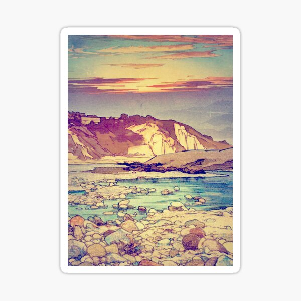 Sunset at Yuke Sticker