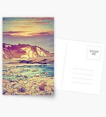 Sonnenuntergang bei Yuke Postkarten