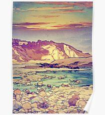 Sunset at Yuke Poster