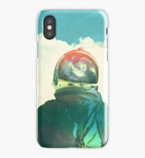 God is an astronaut iPhone Case