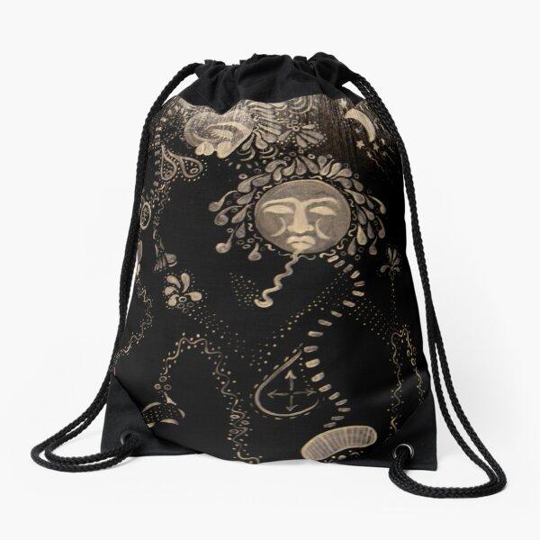 voodoo dancers Drawstring Bag