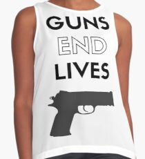 Guns End Lives Contrast Tank