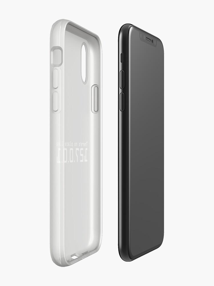 Alternative Ansicht von Es gibt keinen Platz wie 127.0.0.1 - Hacker-Leben iPhone-Hülle & Cover