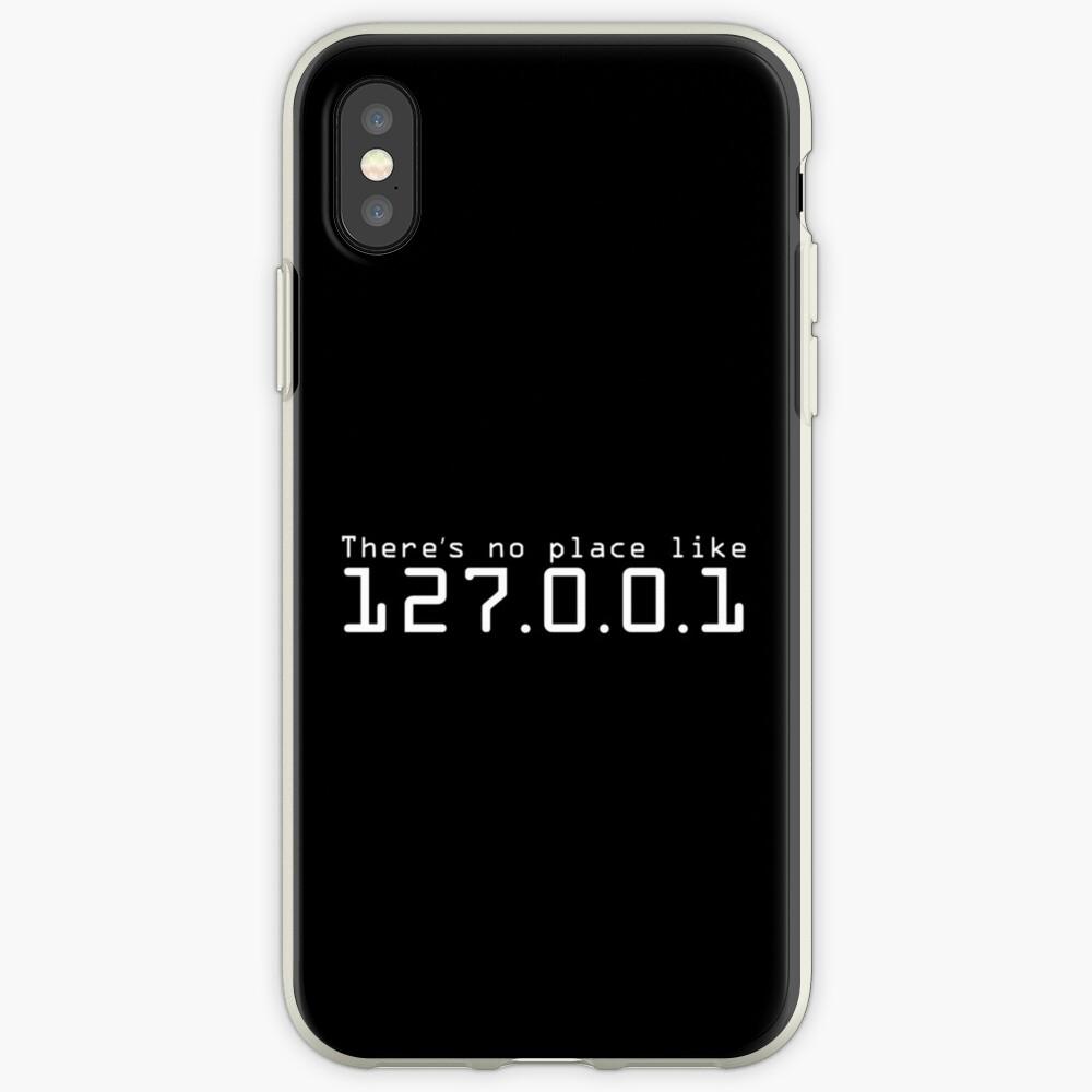 Es gibt keinen Platz wie 127.0.0.1 - Hacker-Leben iPhone-Hülle & Cover