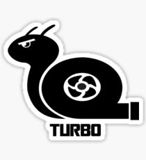 Turbo Snail Sticker