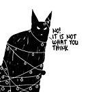 Black Cat Christmas desaster von rauschsinnig