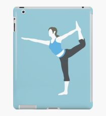 Wii Fit Trainer Vector iPad Case/Skin