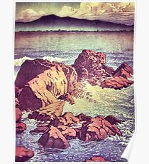Stopping by the Shore at Uke Poster