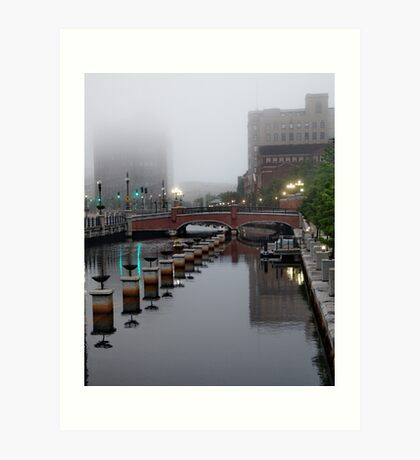 Early Morning Fog Art Print