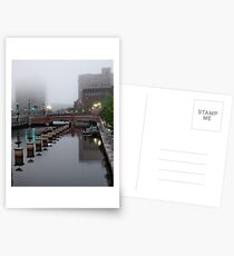 Early Morning Fog Postcards