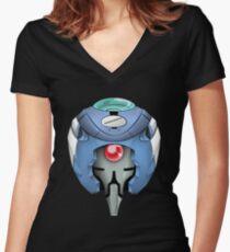 evangelion unit-00 Women's Fitted V-Neck T-Shirt
