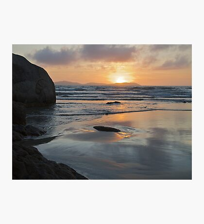 Sunset from Norman Bay at Wilsons Promontory Photographic Print