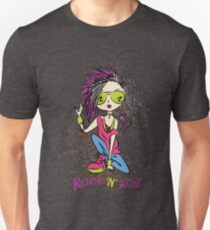 stylish funny rock girl  Unisex T-Shirt
