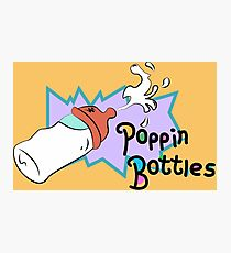 Poppin Bottles Photographic Print