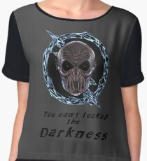 You cant lock up the darkness - zoom Women's Chiffon Top
