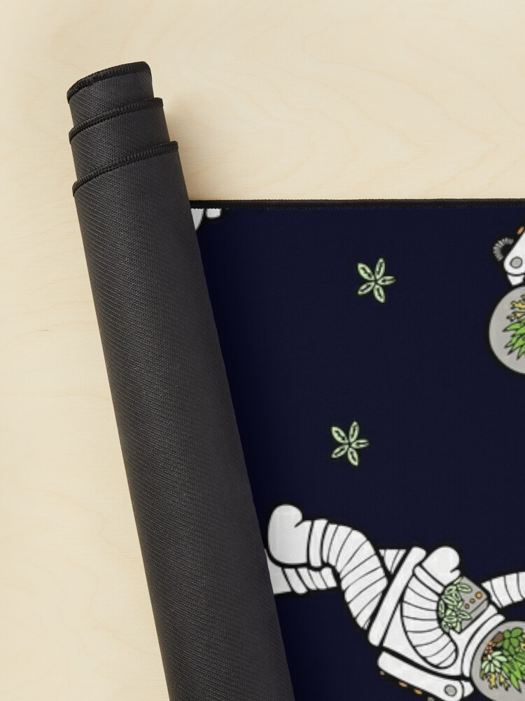Alternate view of Astro Terrarium Pattern Mouse Pad