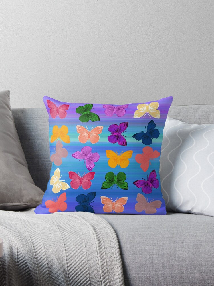 Beautiful Cushions/ Animals/ Butterfly Love3 by ozcushionstoo