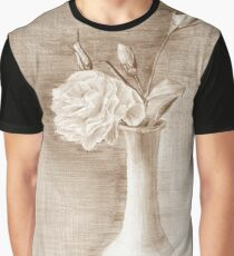 painted still life with flowers Graphic T-Shirt