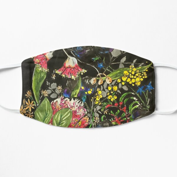 Native Blossoms Flat Mask