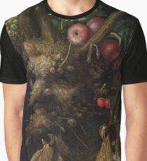 Arcimboldo 4 season in one Graphic T-Shirt