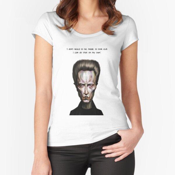 Walken Alone Fitted Scoop T-Shirt