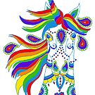 Rainbow Unicorn by Michelle Grewe