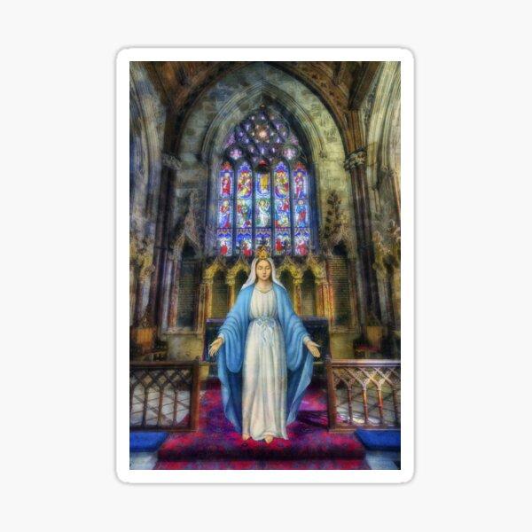 The Virgin Mary Sticker