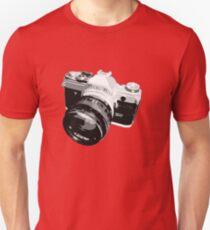 Black and White 35mm SLR Design T-Shirt