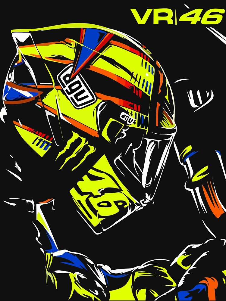 Rossi 46 Unisex T Shirt A T Shirt Of Vector The Doctor Moto Gp