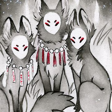 The Kitsune Companions by TeaKitsune