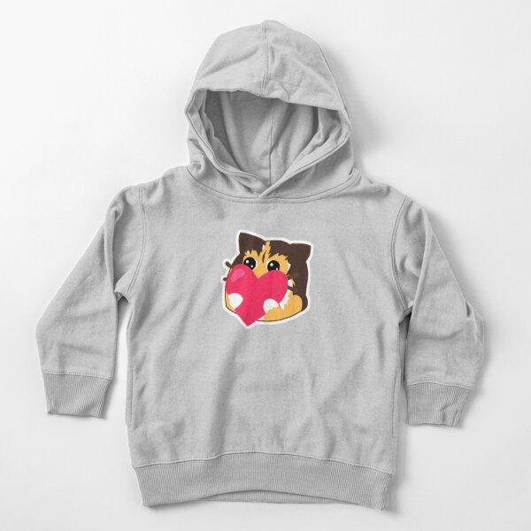 (UglyTheCat) Hugging Heart Toddler Pullover Hoodie