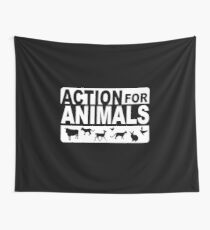 Action for animals Wall Tapestry