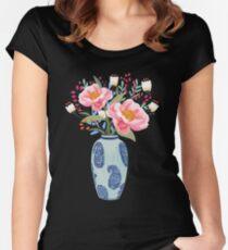 Vase Illustration Women's Fitted Scoop T-Shirt