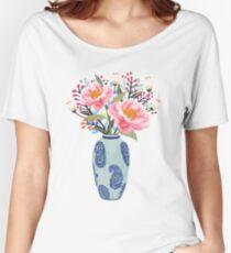 Vase Illustration Women's Relaxed Fit T-Shirt